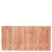 Lariks Douglas tuinscherm Zwarte Woud H90 x B180 cm - 19 planks