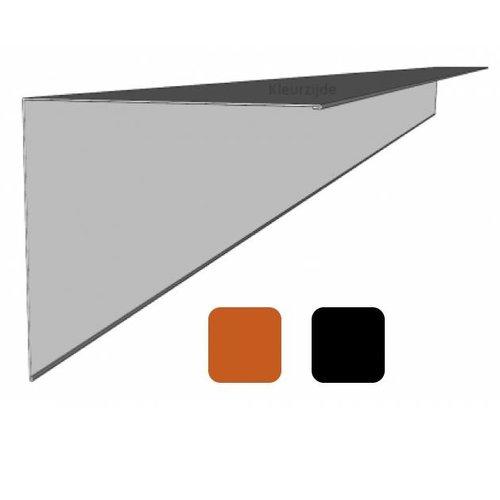 Windveer staal t.b.v. dakpanplaten 14,6 x 14,6 x 300 cm