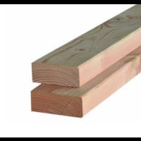 Douglas regel / balk gedroogd & geschaafd 4,5 x 9,5 x 400 cm