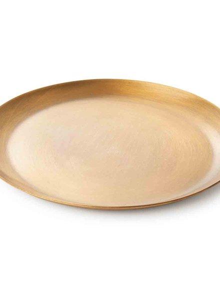 Fog linen brass plate