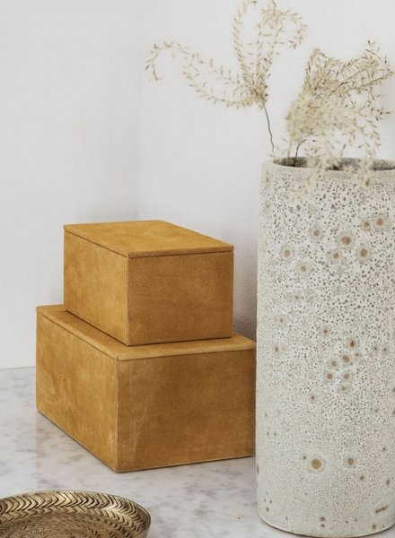 House Doctor storage suede