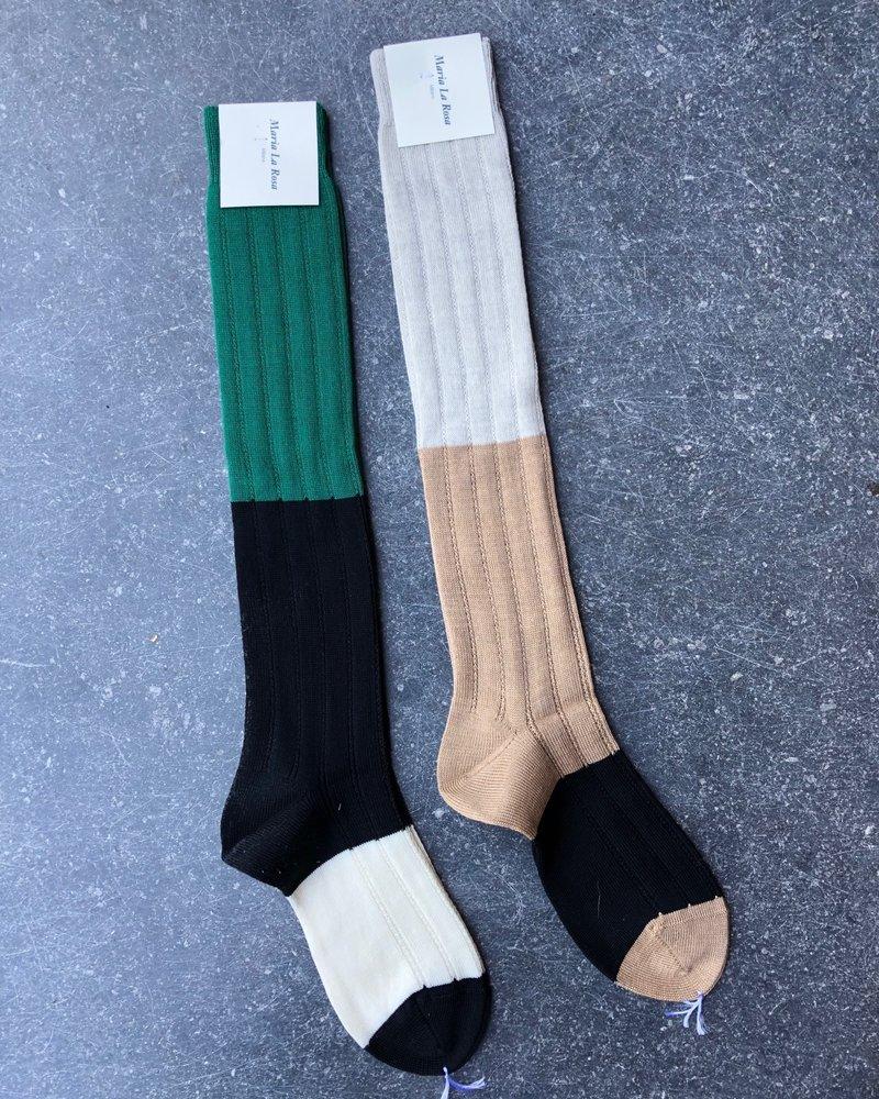 Maria La Rosa knee socks