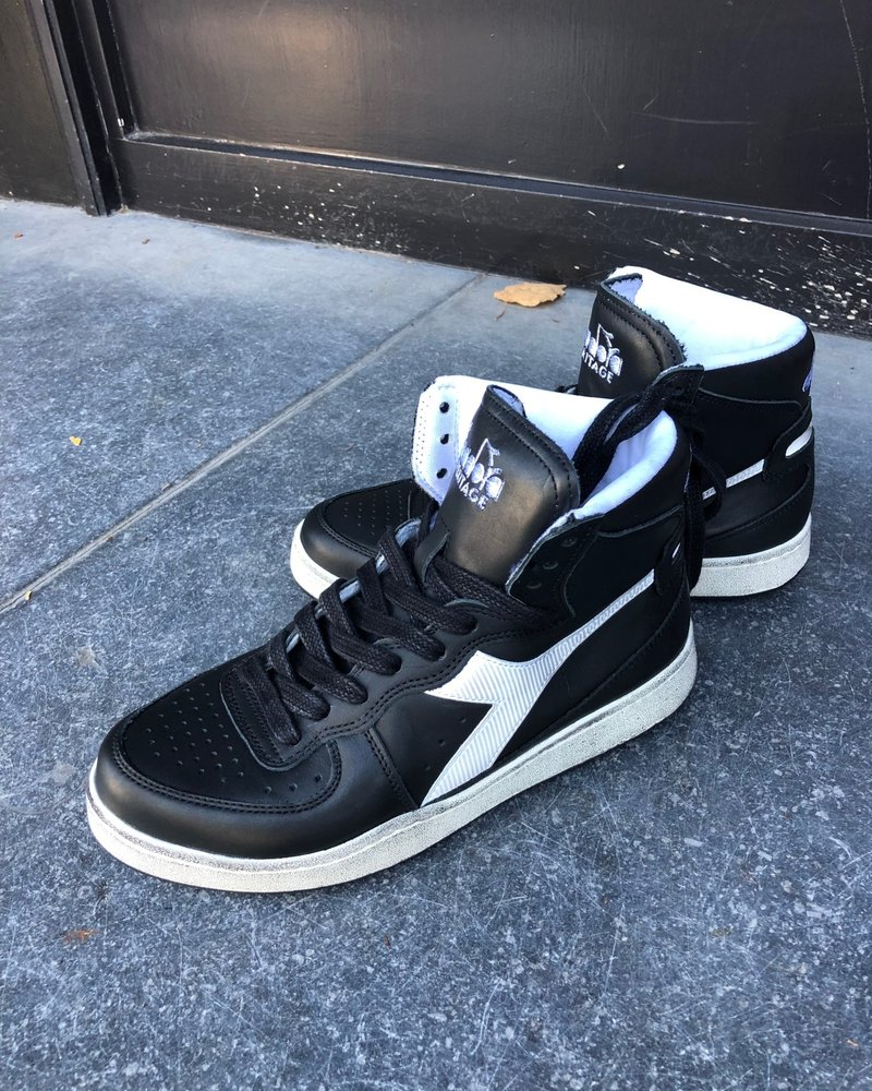 Diadora mi basket used black/white