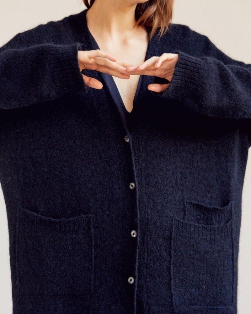 Monica Cordera cardigan blue