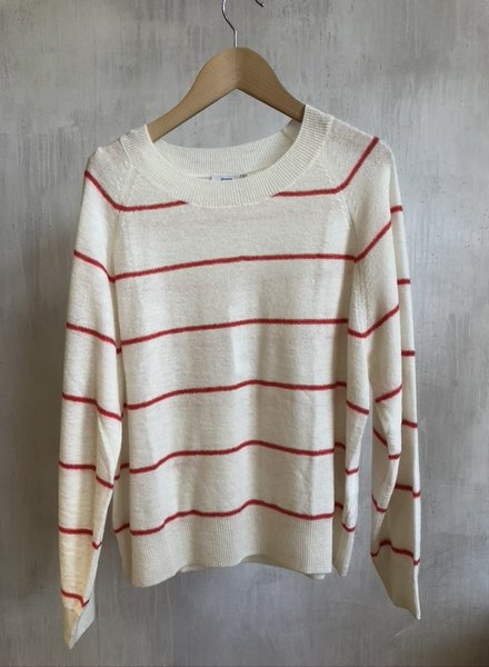 Closed knit stripe ger