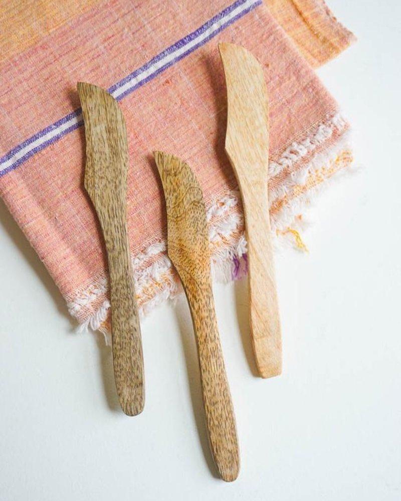 Fog linen mango butter knife