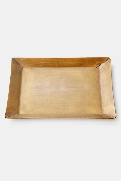 brass plate rect