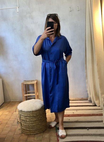 Ateliers Français de Confection soul satin blue