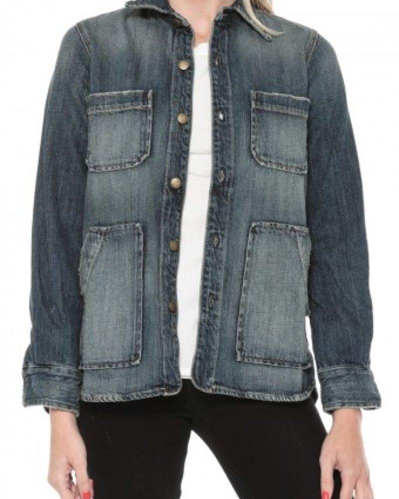 jacket/shirt  jeans