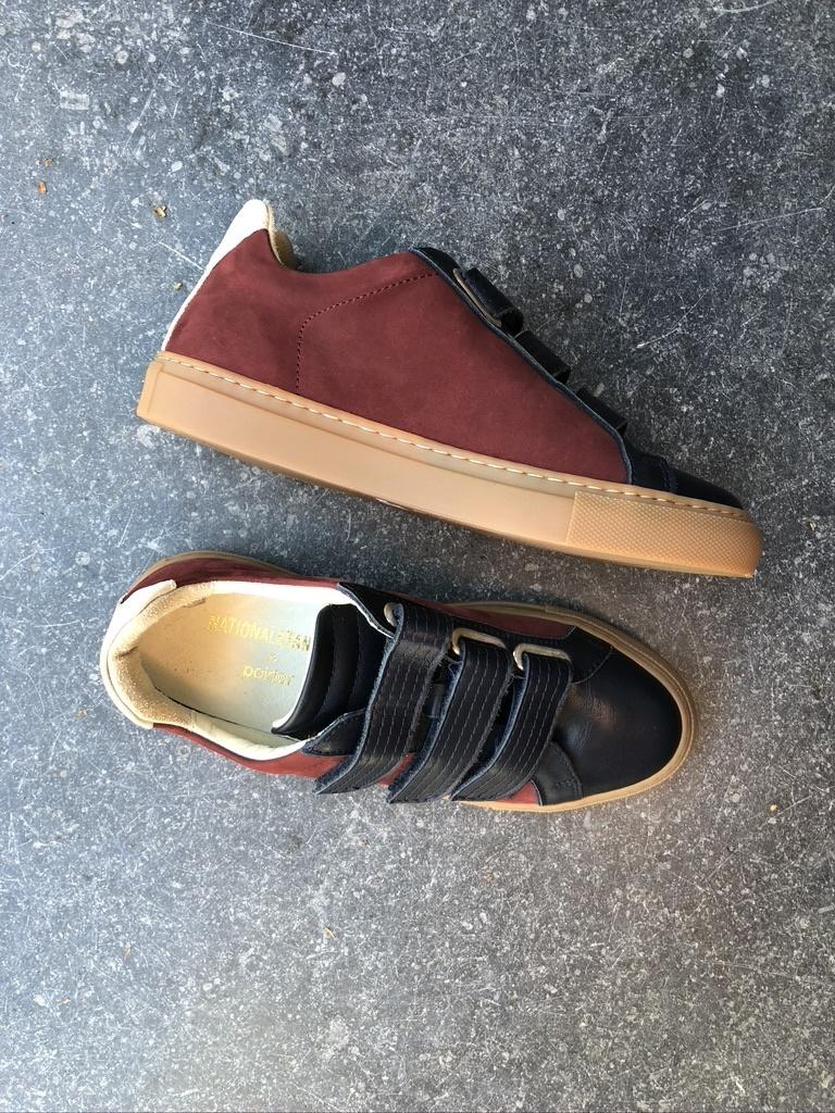 sneakers blauw/rood-2