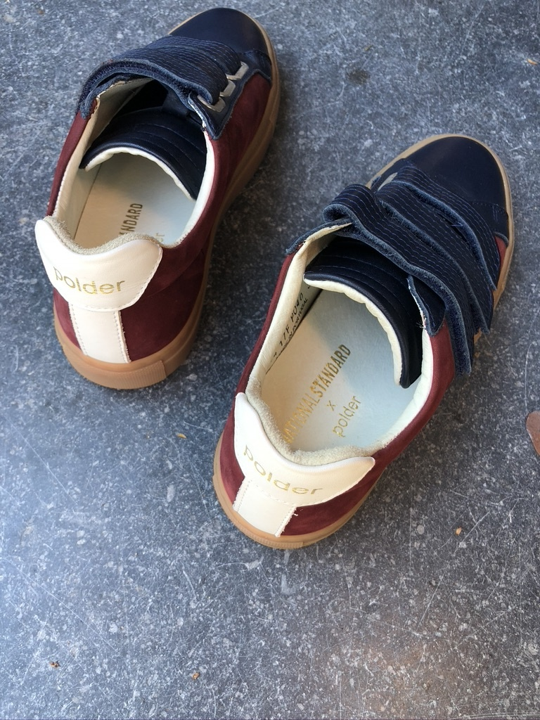 sneakers blauw/rood-3