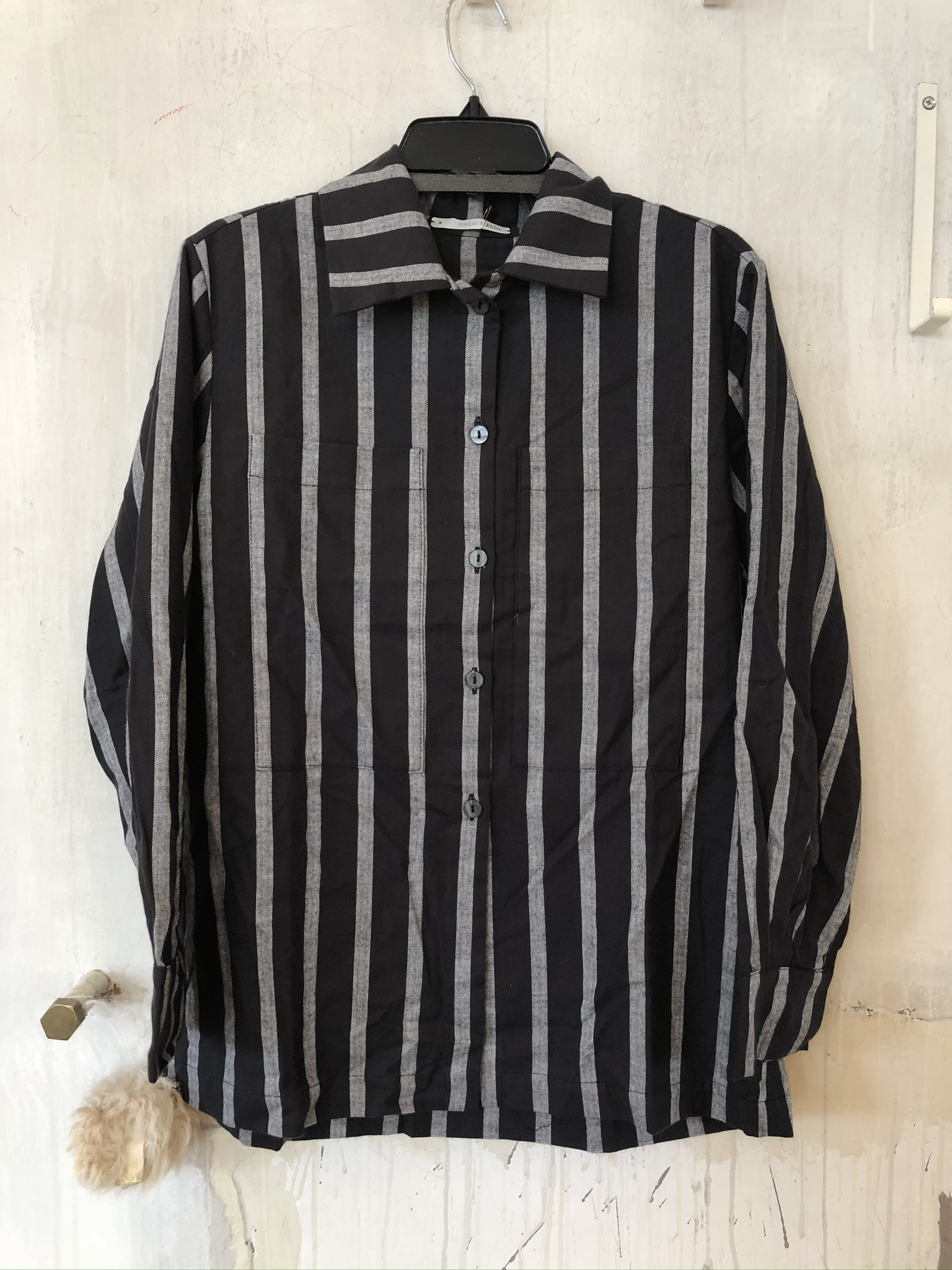 paula pjama vest streep-1