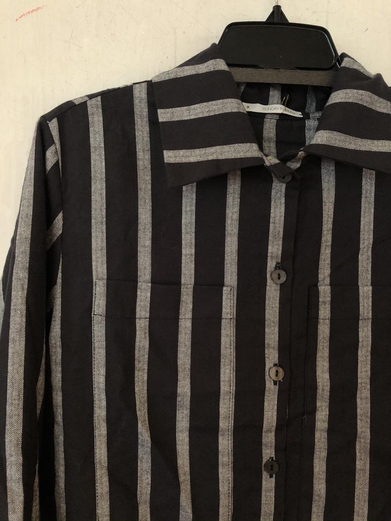 paula pjama vest streep-2