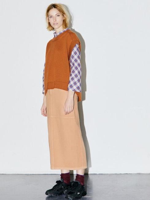 n°405 skirt long zand-3