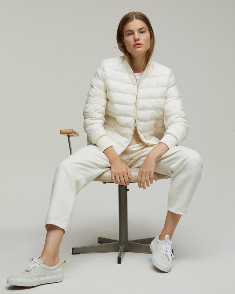 Closed nuri linen white