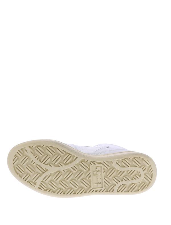mi basket used white/white-9
