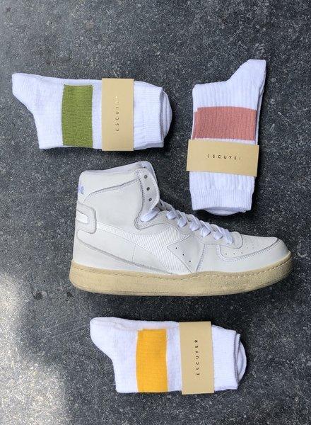 melange band socks