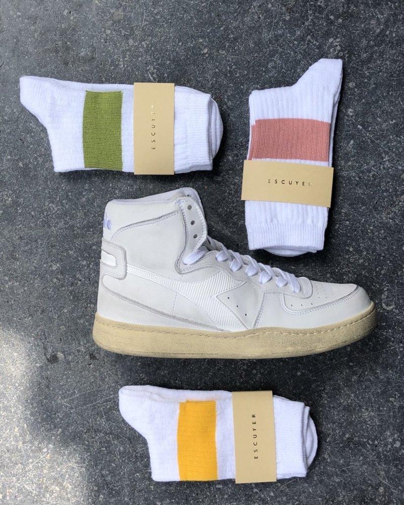 Escuyer melange band sokken