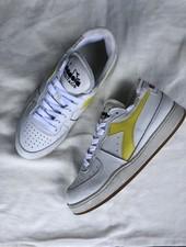 Diadora row cut white/yellow