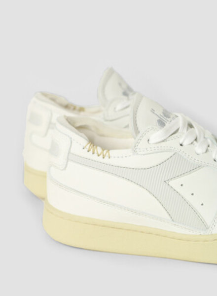Diadora row cut white/dawn blue