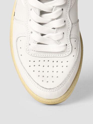 mi basket used white/white-4