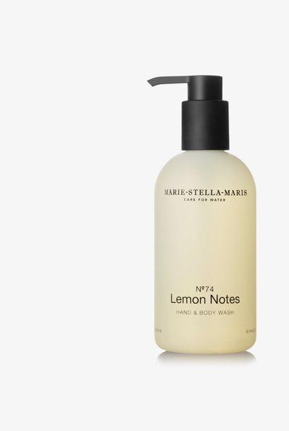 hand & body wash  no° 74 lemon notes