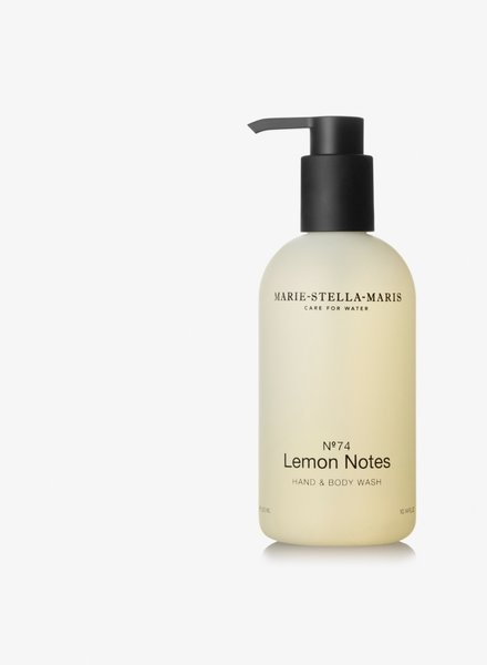 Marie Stella Maris hand & body wash  no° 74 lemon notes