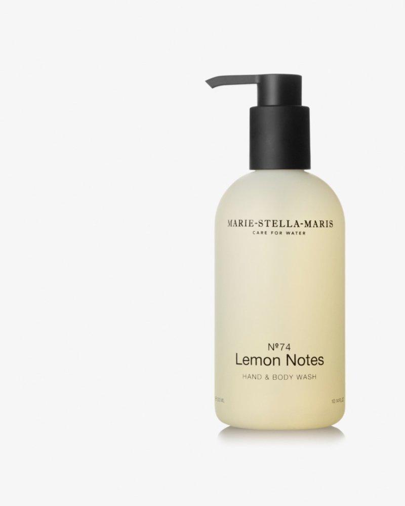 Marie Stella Maris hand & body wash  no° 74 lemon notes