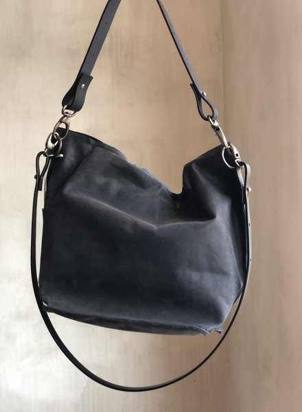 Ellen Truijen shopper fudge navy