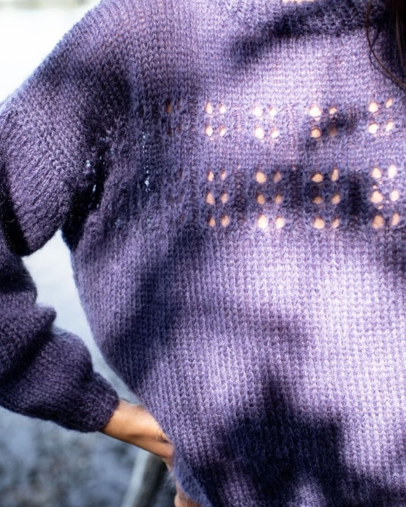 Made by Vest marcelle purple