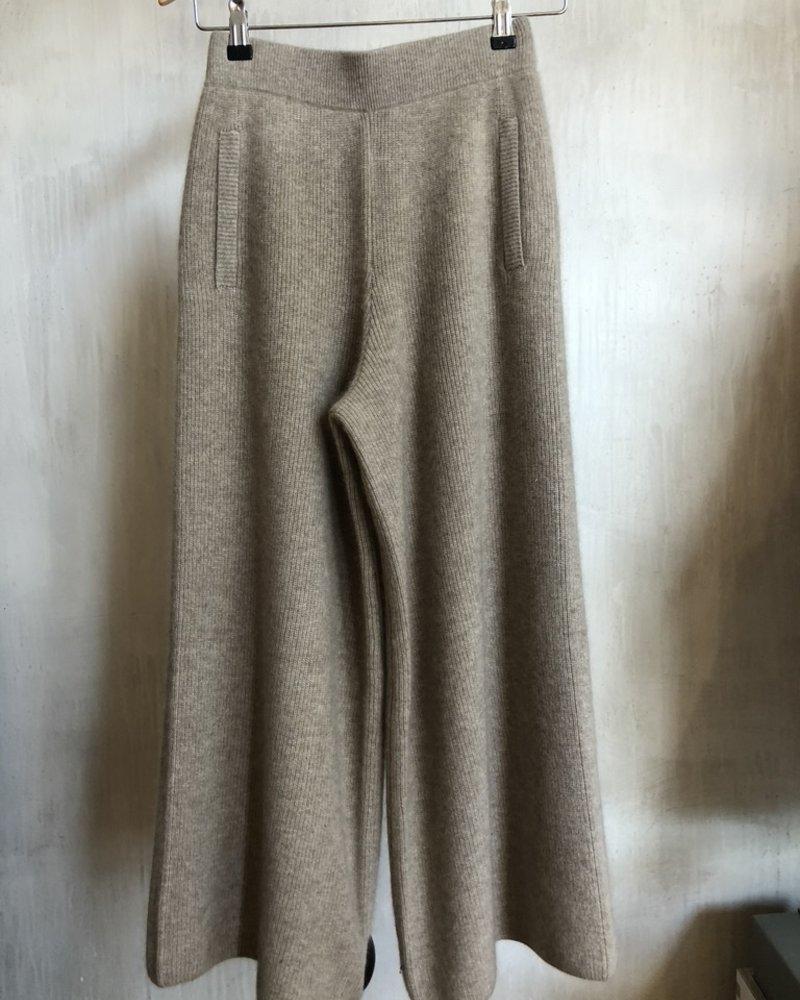 C.T. Plage pant wide cashmere