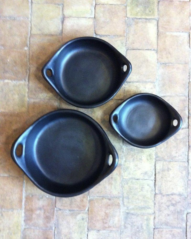 bp round oven dish