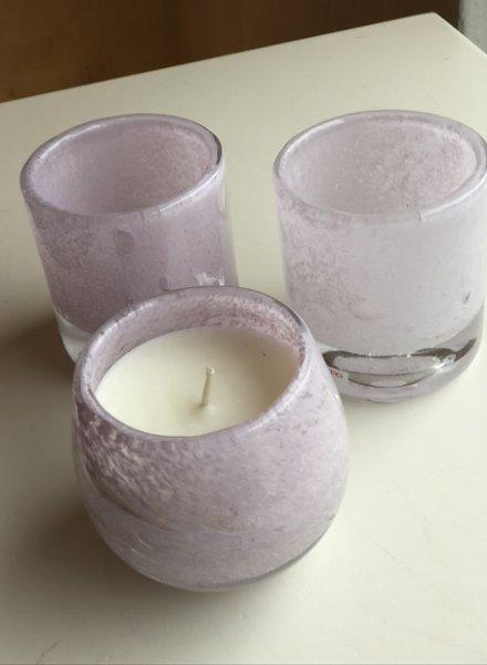 Henry Dean clovis rosebud candle