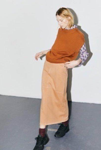 n°405 skirt long zand