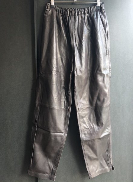 Pomandere trousers leather