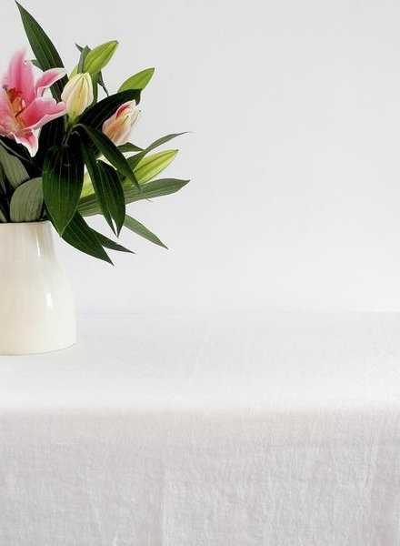 Linge particulier table cloth  off white