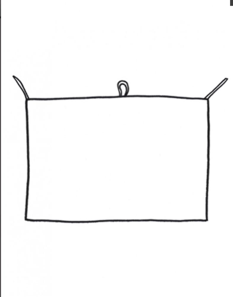 towel green squares-2