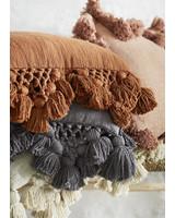 Madam Stoltz cushion  w/ tassels