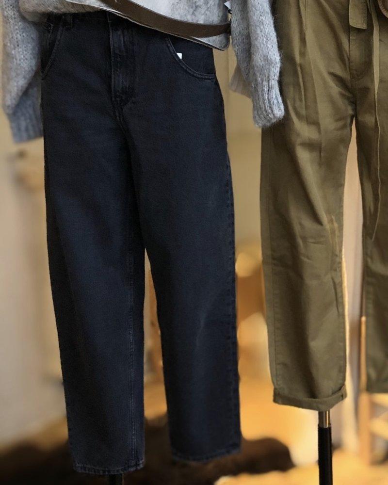 American Vintage 5 pocket black poivre
