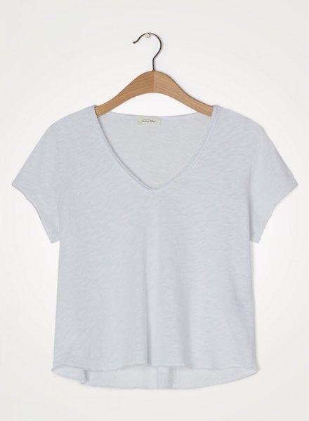 American Vintage t-shirt son col v