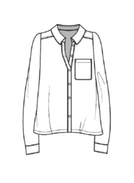 Xirena blaine shirt ash