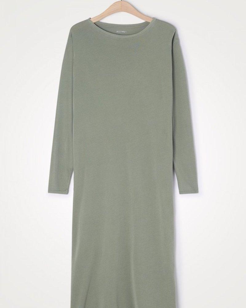 American Vintage t-shirt dress olive