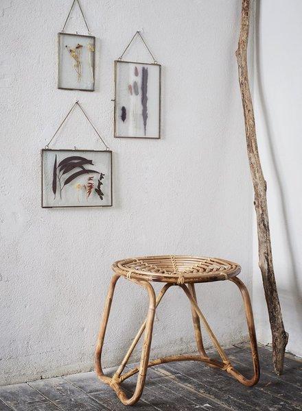 Madam Stoltz bamboo stool