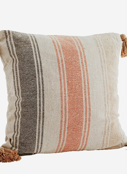 Madam Stoltz cushion striped