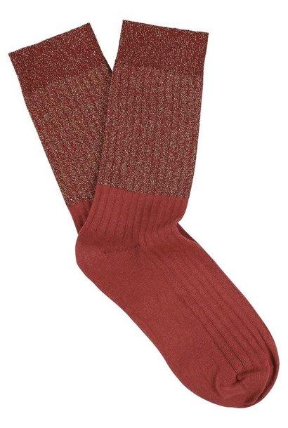 lurex block socks
