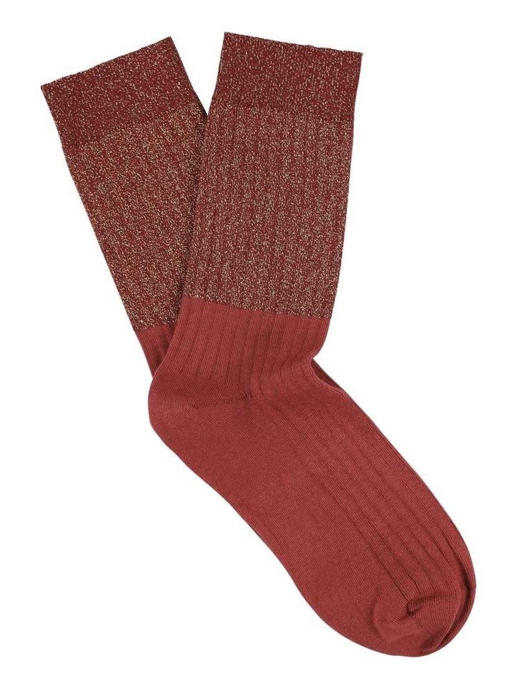 lurex block socks-1