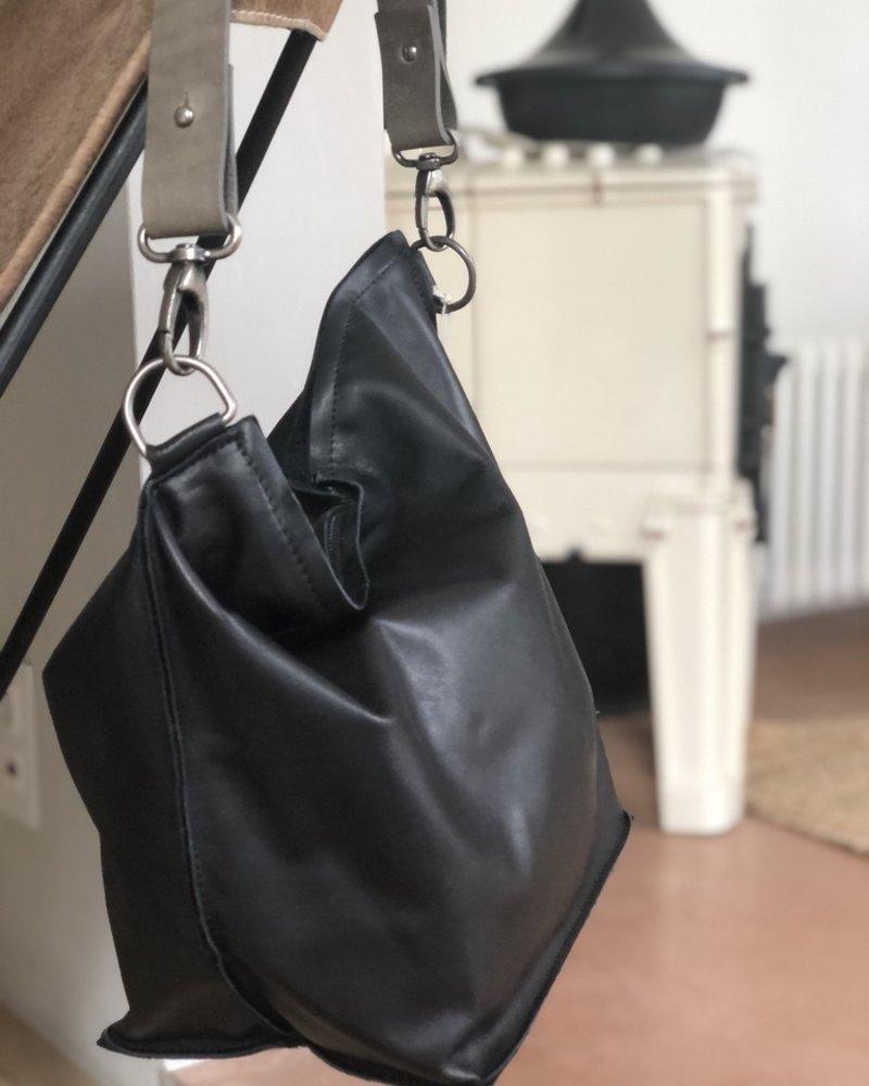 Ellen Truijen shopper cashmere ebony