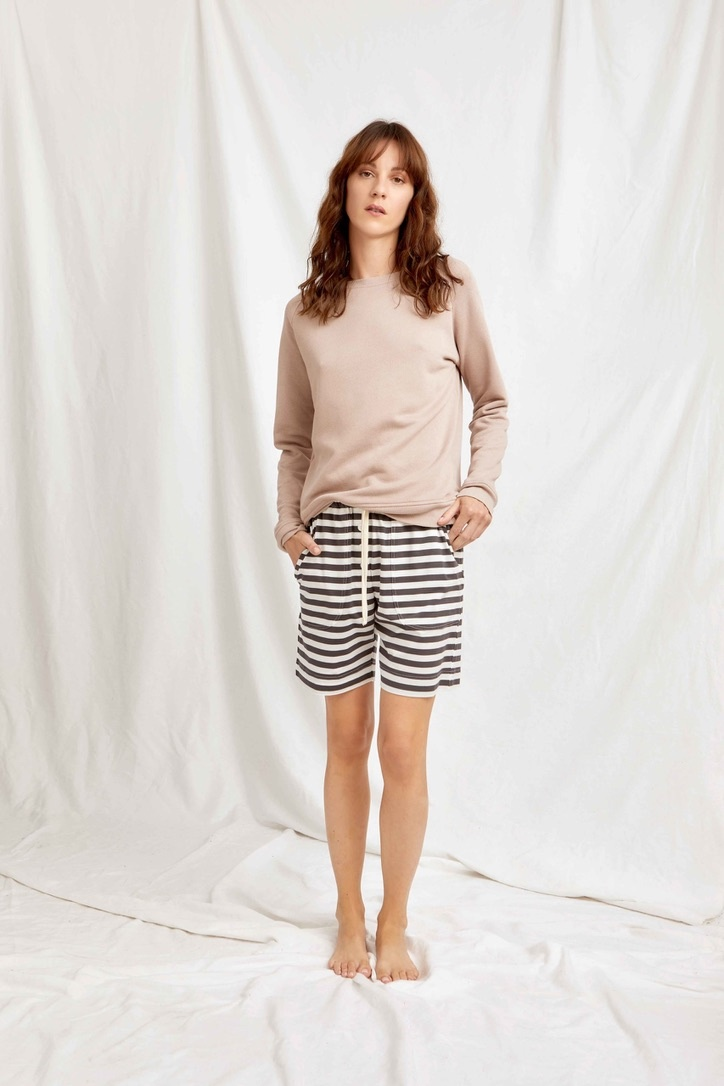 rugby sweater sweat  mauve-3