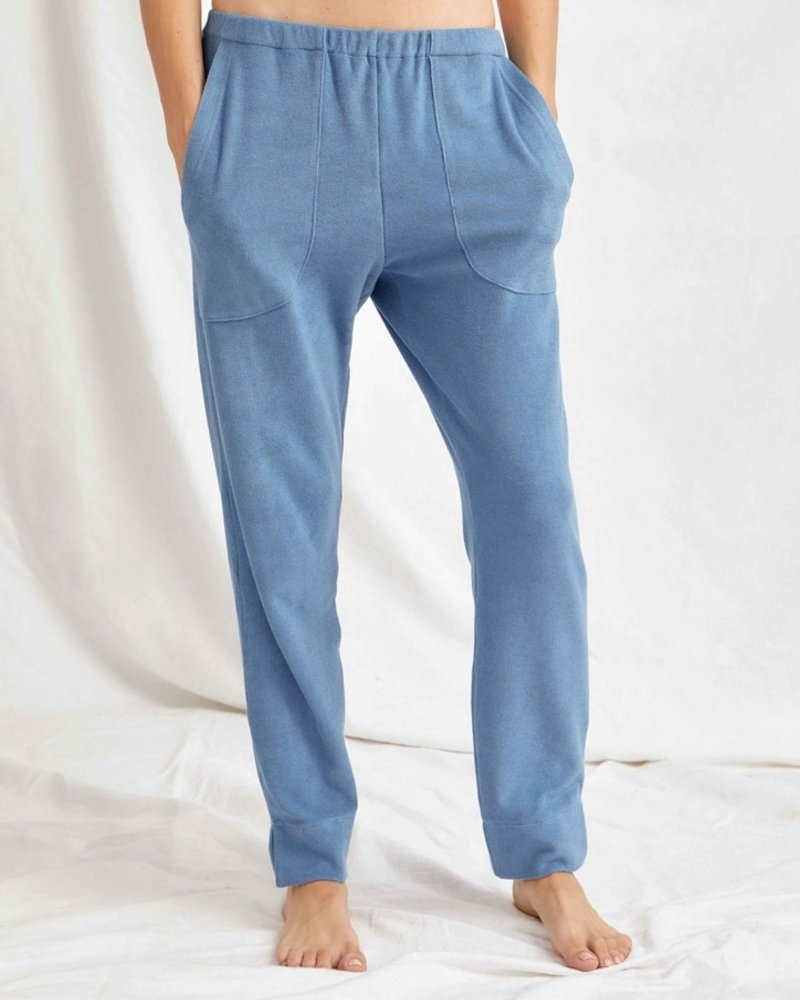 Sunday in bed pure hose frottee denim