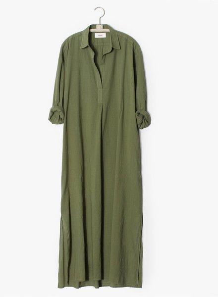Xirena hope dress olive palm